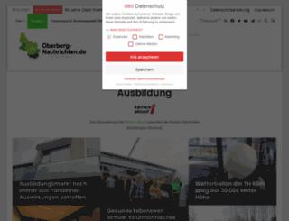 ausbildung-oberberg.de screenshot