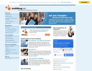 ausbildung.net screenshot