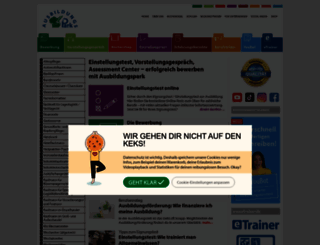 ausbildungspark.com screenshot