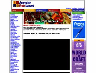 auscraftnet.com.au screenshot
