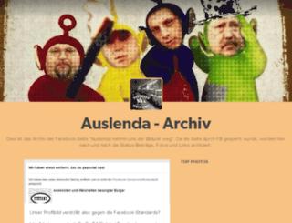 auslenda.tumblr.com screenshot