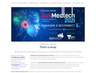ausmedtech.com.au screenshot