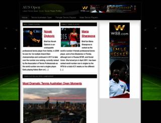 ausopen.org screenshot