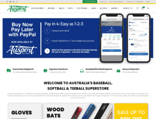 ausport.com.au screenshot