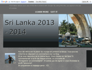 ausrilanka2013.blogspot.be screenshot