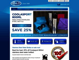 aussiefitsport.com.au screenshot