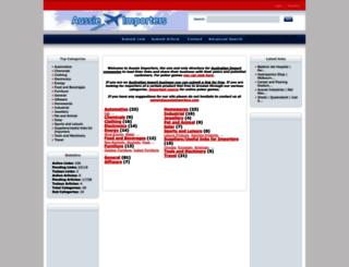 aussieimporters.com screenshot