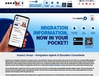 aussizz.com screenshot