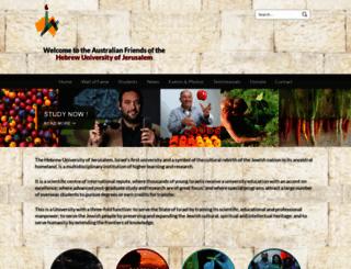 austfhu.org.au screenshot