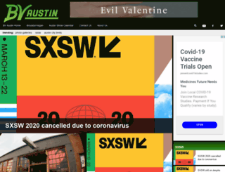 austin.brooklynvegan.com screenshot