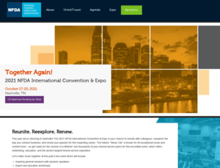austin2013.nfda.org screenshot