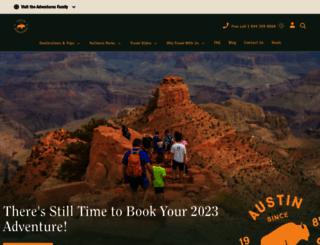 austinadventures.com screenshot