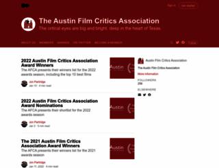 austinfilmcritics.org screenshot