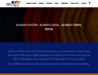austinscreenprinting.net screenshot