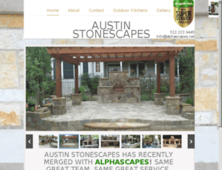 austinstonescapes.com screenshot