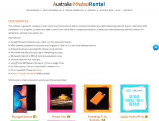 australia-wireless-rental.com screenshot