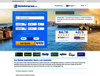 australia.rentalcargroup.com screenshot