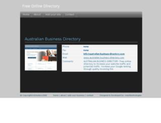 australian-business-directory.topfiveguide.com.au screenshot