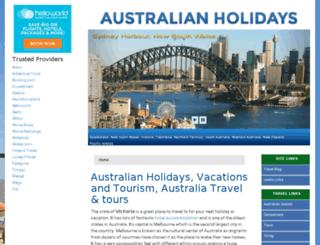 australian-holidays.com screenshot