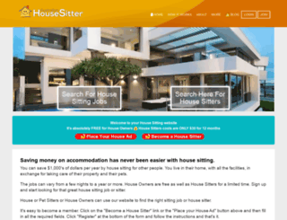 australianhousesitter.com.au screenshot