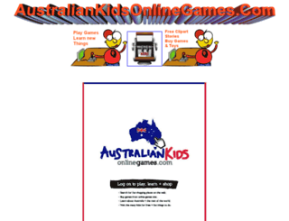 australiankidsonlinegames.com screenshot