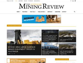 australianminingreview.com.au screenshot