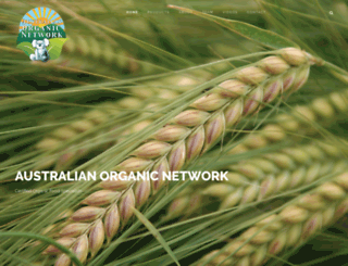 australianorganicnetwork.com.au screenshot