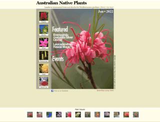 australianplants.com screenshot
