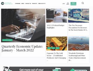 australianstockreport.com.au screenshot