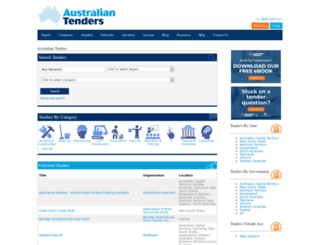 australiantenders.com screenshot