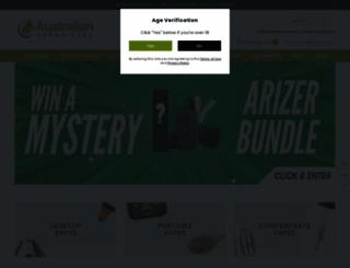 australianvaporizers.com.au screenshot