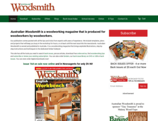 australianwoodsmith.com.au screenshot