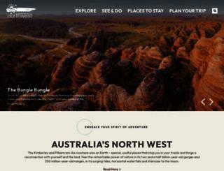 australiasnorthwest.com screenshot
