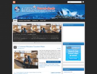 australiatravel-deals.com screenshot