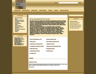 australiawebdirectory.net screenshot