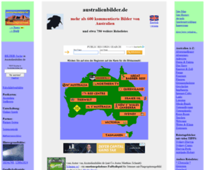 australienbilder.de screenshot