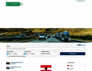 ausztria.autopalyan.hu screenshot