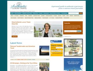 authenticluxurytravel.elizabethhansen.net screenshot