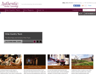 authenticwinecountry.com screenshot