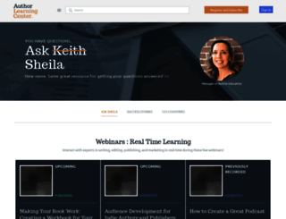 authorlearningcenter.com screenshot