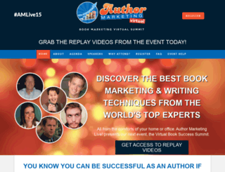 authormarketinglive.com screenshot
