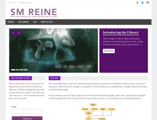 authorsmreine.com screenshot
