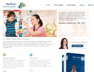 autismabacurriculum.com screenshot