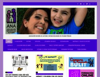 autismonavarra.com screenshot