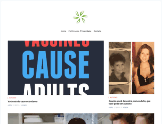 autismpedia.org screenshot