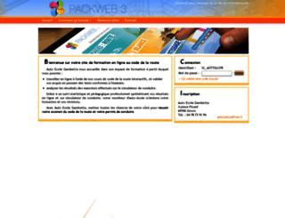 auto-ecole-gambetta-givors.packweb2.com screenshot