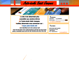 auto-ecole-saint-jacques-troyes.packweb2.com screenshot