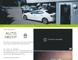 auto-hecht.com screenshot