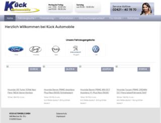 auto-kueck.de screenshot