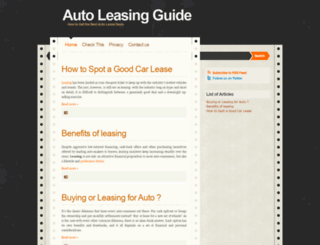 auto-leasing-guide.blogspot.com screenshot